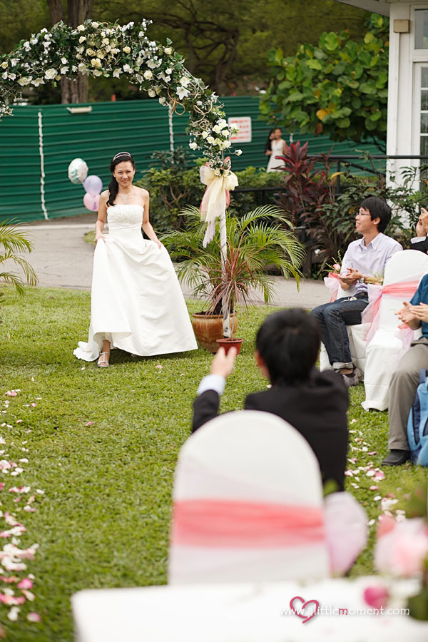The Solemnization of Su Ching and Cher Chin by A Little Moment Wedding Photography Singapore