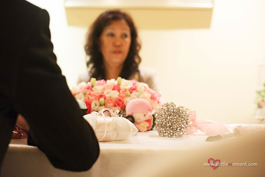 Joanna and Vincent's Solemnization by A Little Moment Photography Singapore
