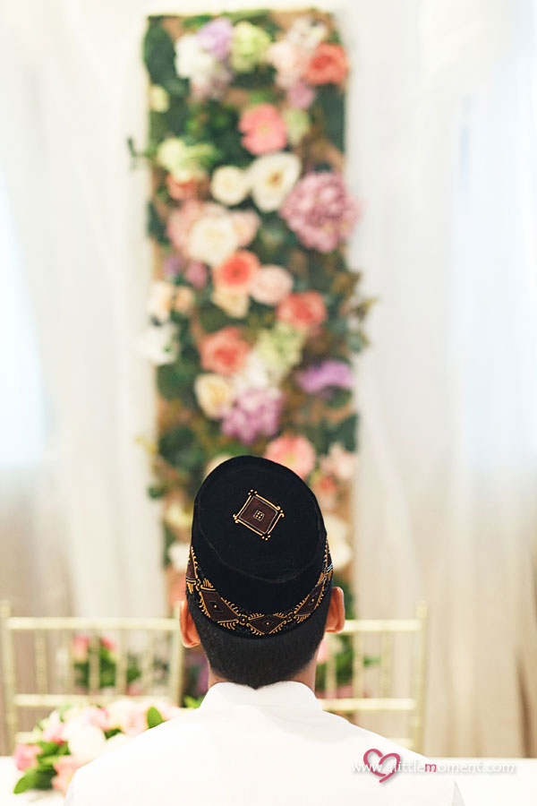 The Solemnization of Siska and Taufik by A Little Moment Wedding Photography Singapore