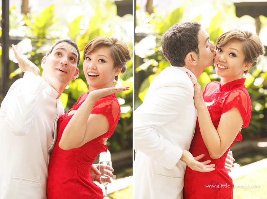 The Solemnization of Gladys and David by A Little Moment Photography