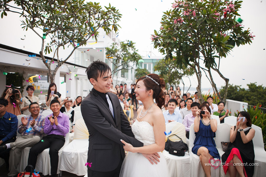 The Solemnization of Stephanie and Wei Tong by Sze Lee from A Little Moment Photography Singapore