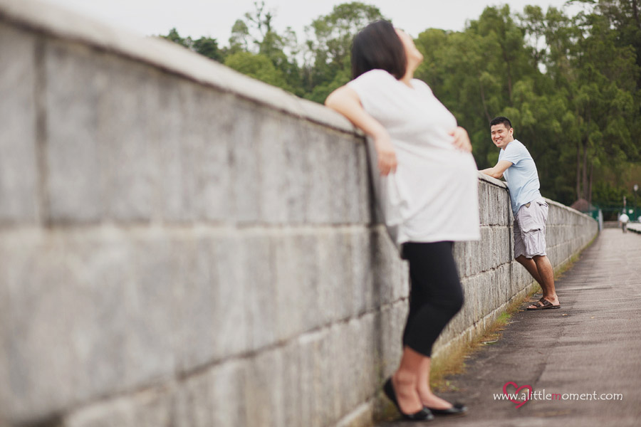Dung's Maternity Portraiture by Sze Lee from A Little Moment Photography