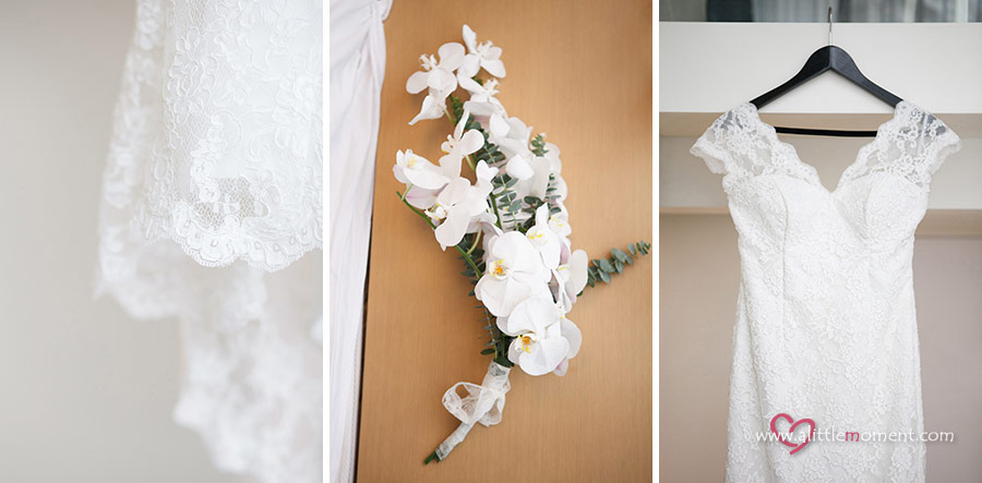 The Wedding Day of Joy and Gunnar by Sze Lee from A Little Moment Photography Singapore