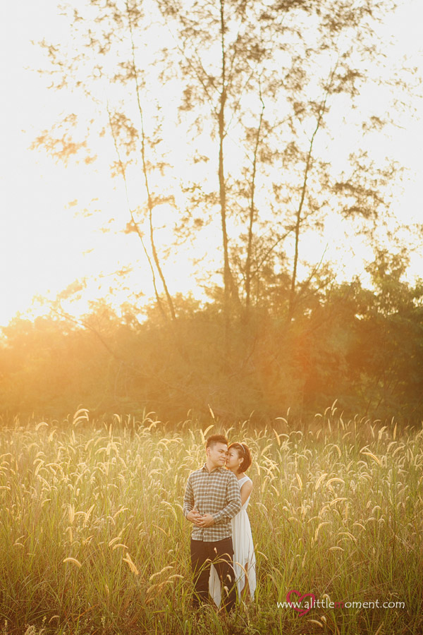 The Casual Pre-Wedding Session of Audrey and Chia Liang by Sze Lee from A Little Moment Photography Singapore