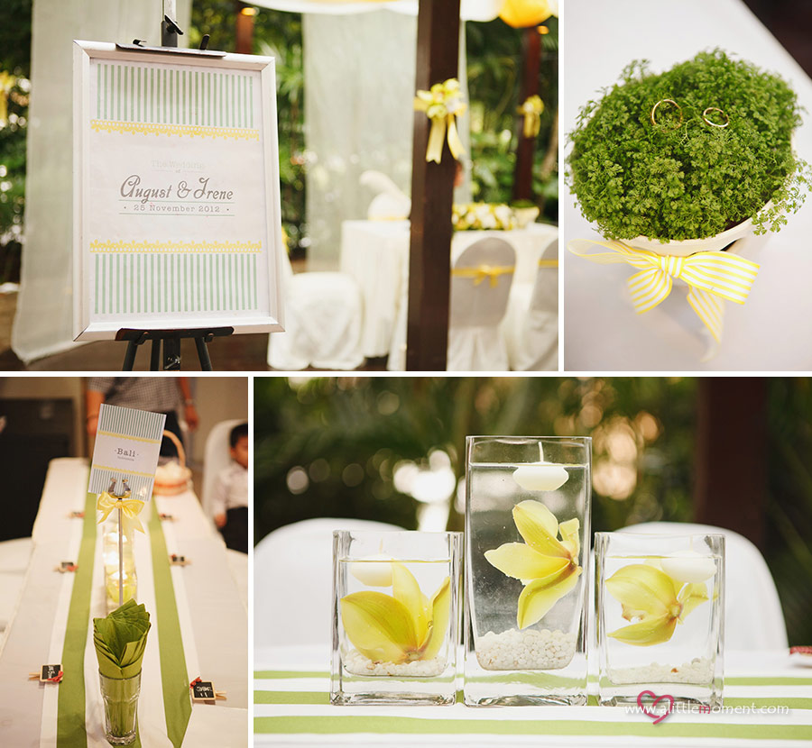 Baby Shower Venues In Singapore: Irene And August's Wedding At One Rochester