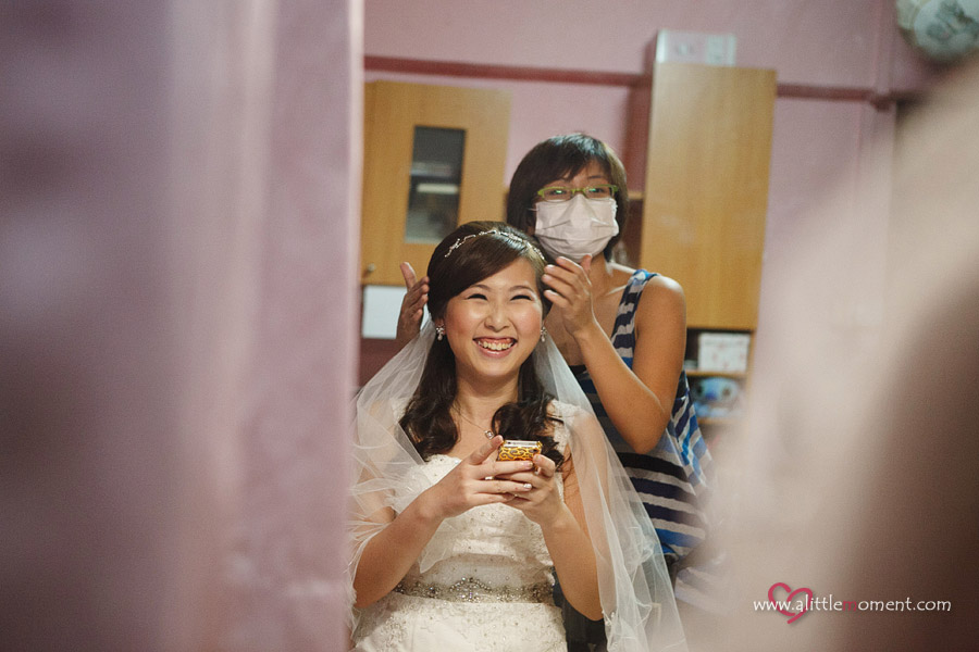The Wedding Day of Yan Lin and Andrew by Sze Lee from A Little Moment Photography Singapore