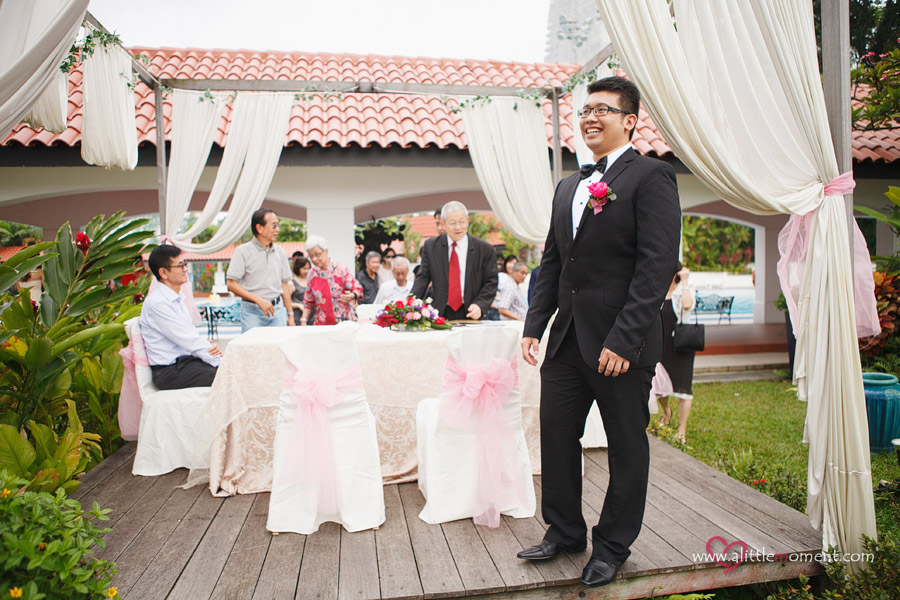The Solemnization of Haze and Calvin by Sze Lee from A Little Moment Photography Singapore