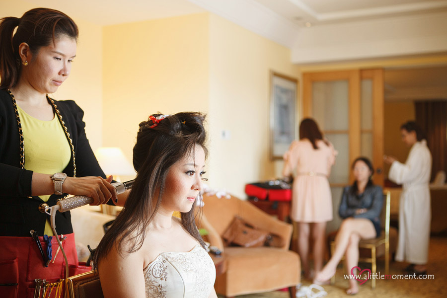 The Wedding Day of Janell and Daniel by Sze Lee from A Little Moment Photography Singapore