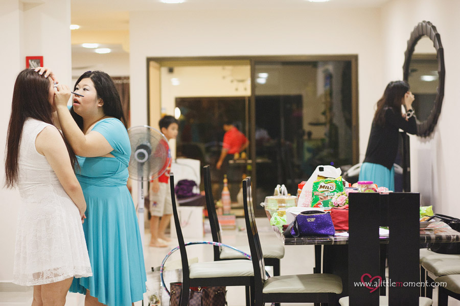 The Wedding Day of Audrey and David by Sze Lee from A Little Moment Photography Singapore