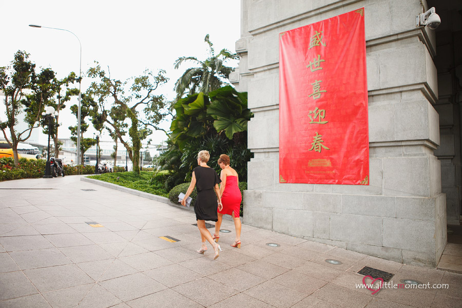 The Wedding Day of Linda and Hamish by Sze Lee from A Little Moment Photography Singapore.
