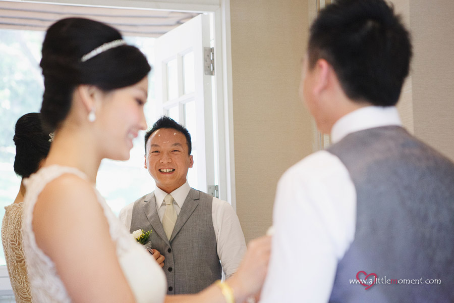 The Solemnization of Jessica and Alvin by Sze Lee from A Little Moment Photography Singapore.