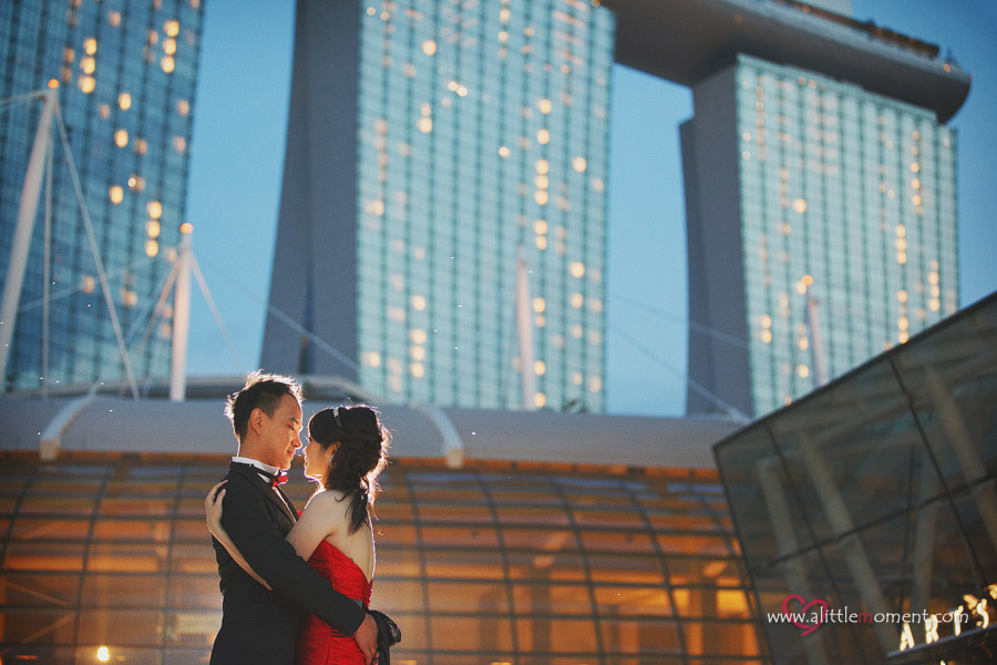The Pre-Wedding of Pei Pei and Daniel by Sze Lee from A Little Moment Photography Singapore.