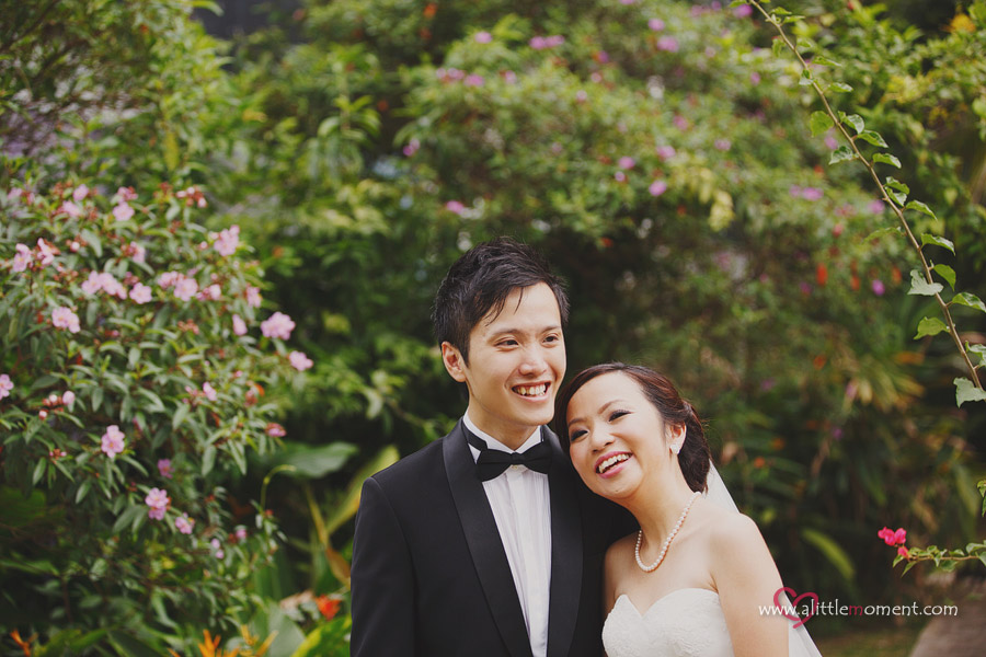 The Pre-Wedding of Reina and Ian by Sze Lee from A Little Moment Photography Singapore.