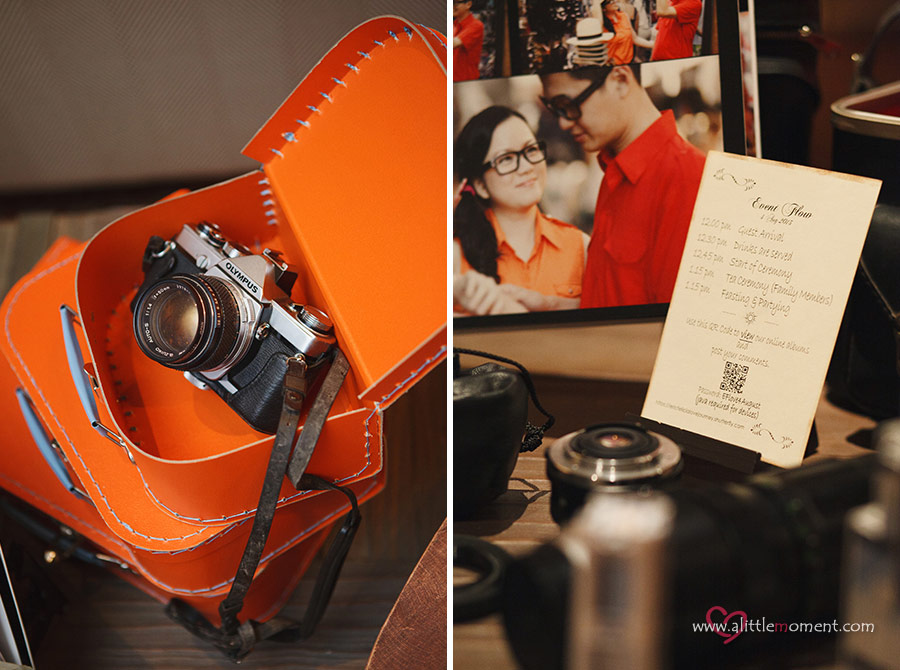The Wedding Day of Felicia and Eric at Grand Hyatt Singapore Hotel by Sze Lee from A Little Moment Photography