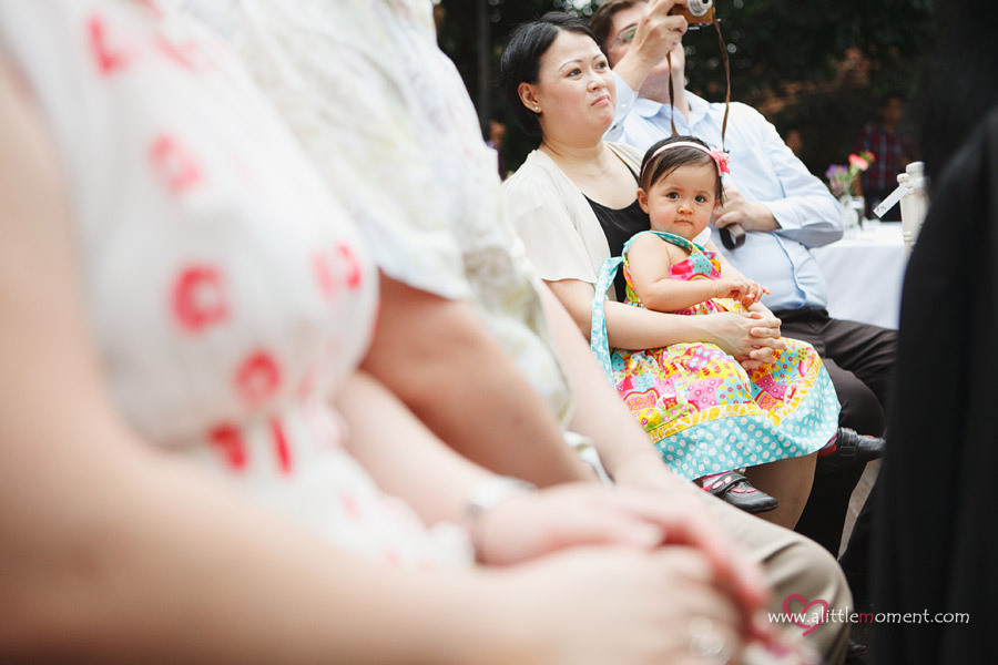 The Solemnization of Rosemary and Ingo by Sze Lee from A Little Moment Photography