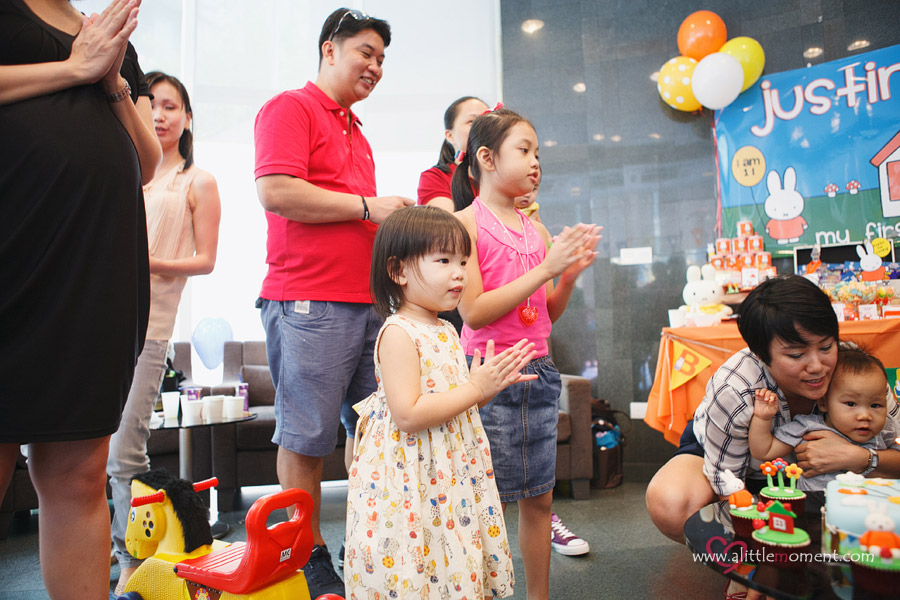 Justin's First Birthday Party by Sze Lee from A Little Moment Photography