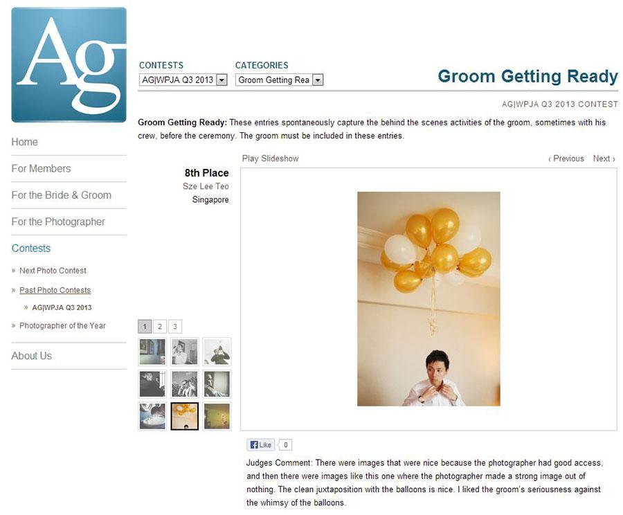 AGWPJA2013Q3GroomGettingReady