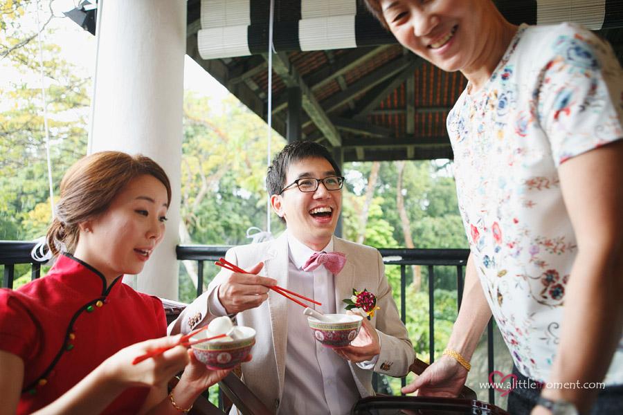 The Wedding Day of Shaun and Eun Kyung at Burkill Hall, Singapore Botanic Gardens.