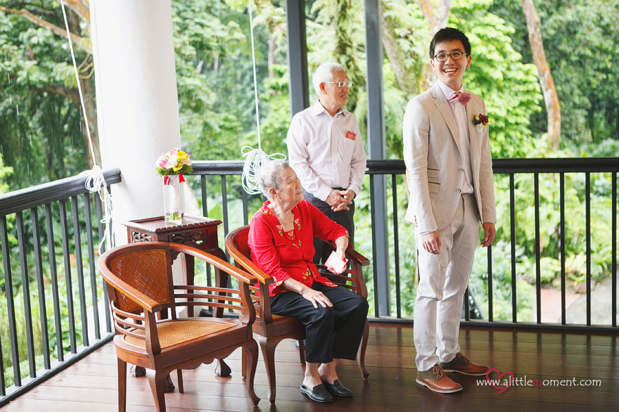 The Wedding Day of Shaun and Eun Kyung at Burkill Hall, Singapore Botanic Gardens.