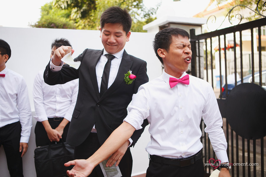 Shi Han and Yong Jie's Wedding at Fairmont Singapore Hotel