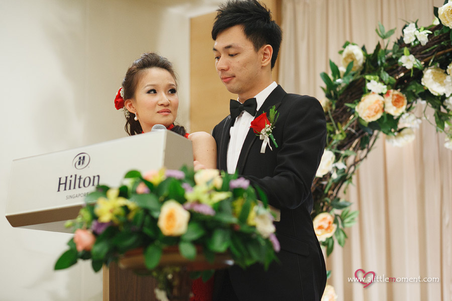 Hilton Singapore Hotel Wedding by A Little Moment Photography