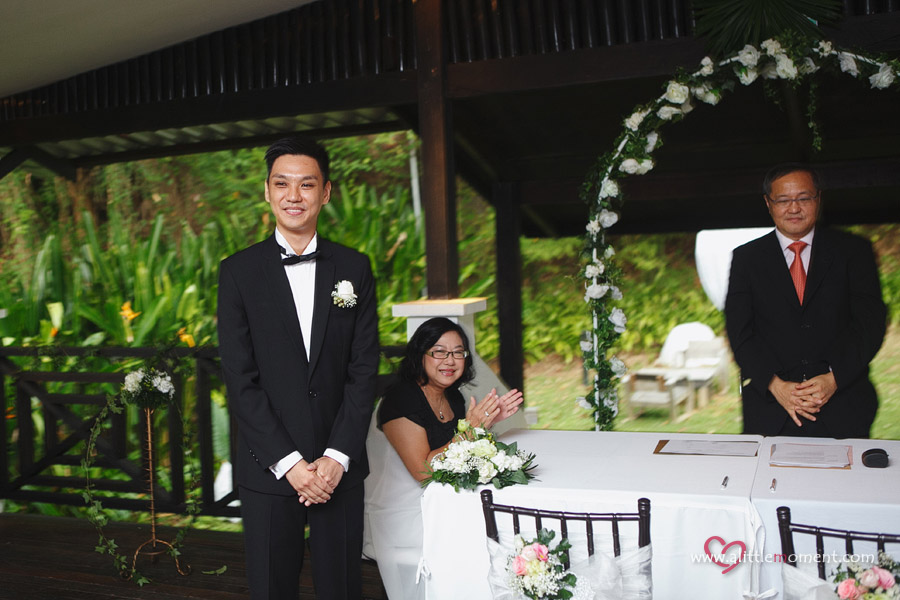 Jingyin and Alfred's Wedding at Tamarind Hill Singapore