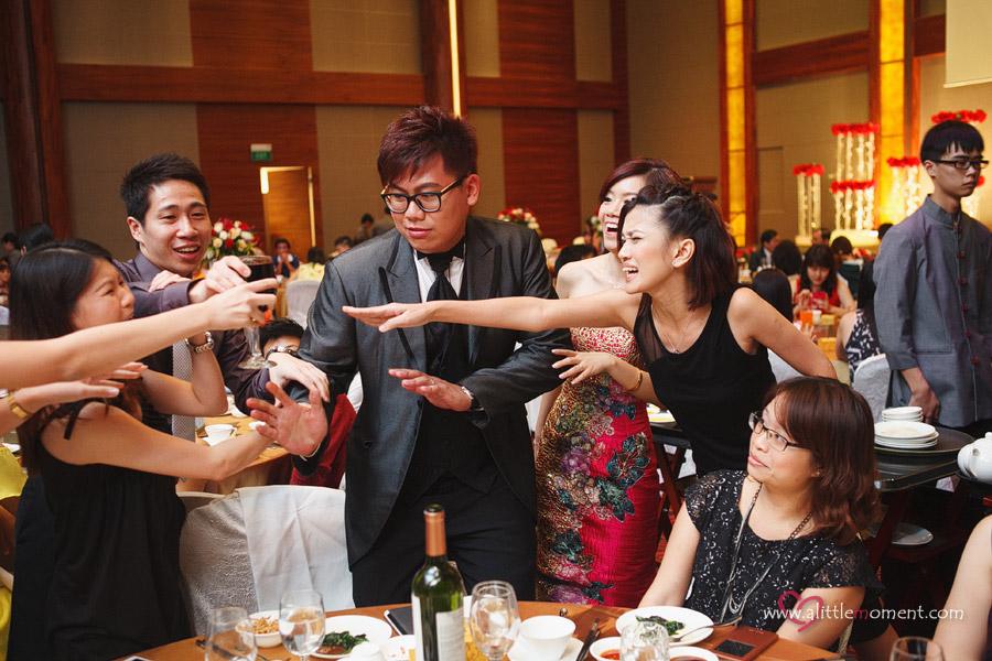 Starbucks Solemnization and Chinese Swimming Club Wedding