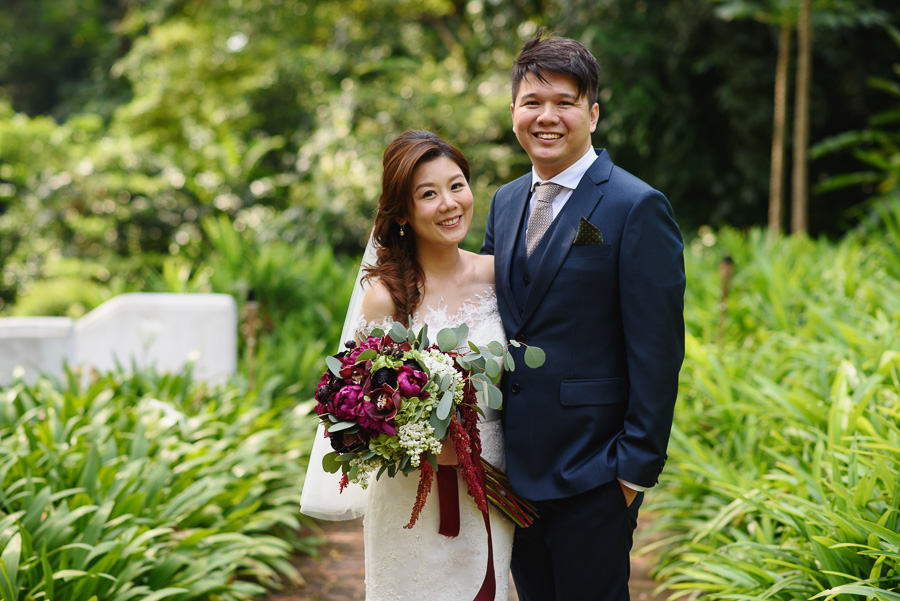 Cher Siong and Esabelle's Wedding Day