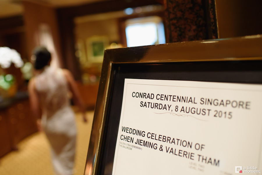 Conrad Hotel Wedding