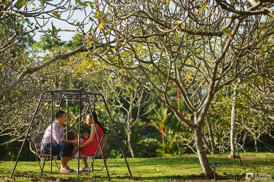 Singapore Botanic Gardens Casual Pre-Wedding