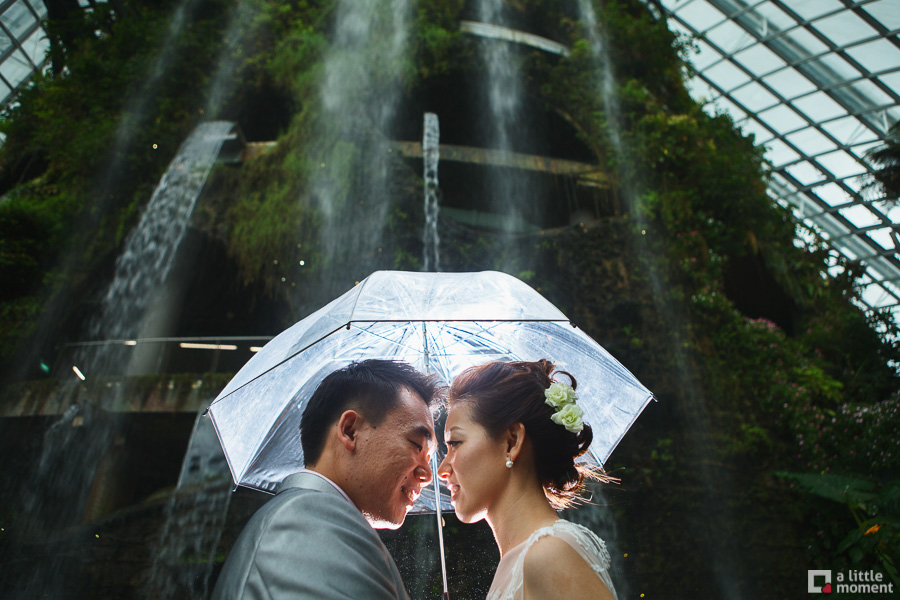 Gardens by the Bay Pre-Wedding