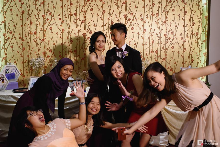 Orchid Country Club Peach Garden Wedding