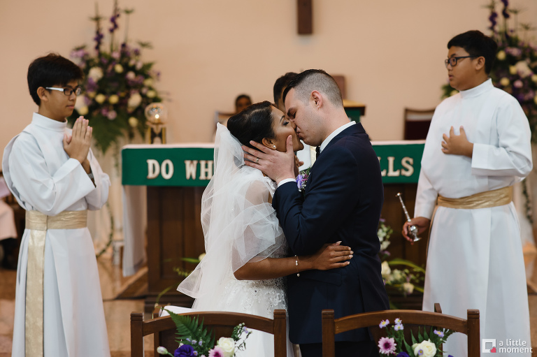 Church of St Vincent de Paul Wedding