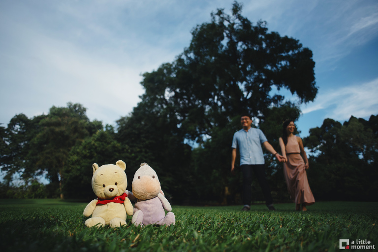Singapore Botanic Gardens Engagement Session