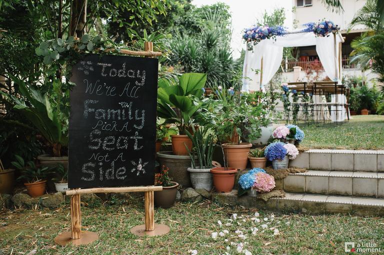 Garden solemnization Singapore